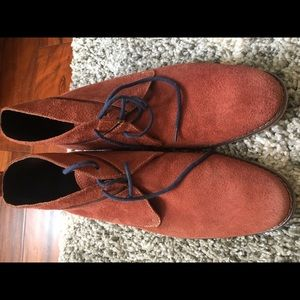 Cole Haan rust colored chukka boots. Ex condition